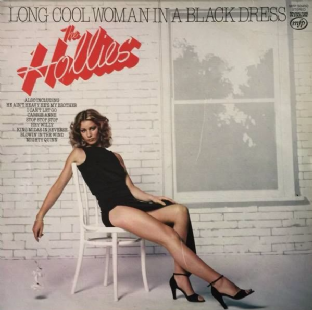 Hollies (The) ‎- Long Cool Woman In A Black Dress (LP) (VG+/VG)